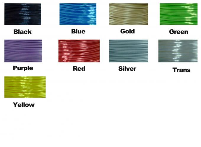 Imitation Silk Filament Polymer Composites Flexible 3d Printing Filament White