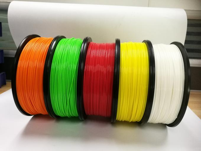 ODM PLA 3d Printer Filament Dimensional Accuracy +/- 0.03 mm 1 kg Spool 1.75 mm Black