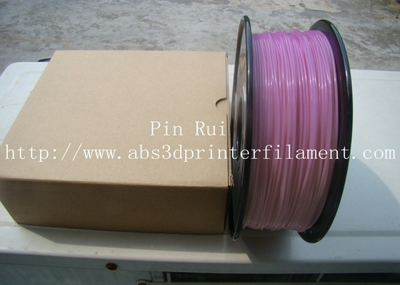 China High Quality 3D Printer Filament PLA 1.75mm 3mm For White To Purple  Light change  filament supplier