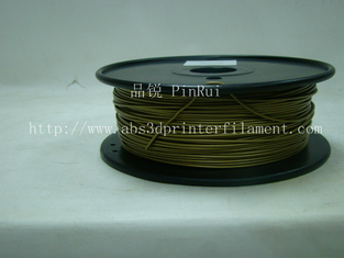 China Bronze 3D Printer Metal Filament Polished 1.75 Mm 3D Printer Filament supplier