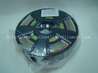 China 1.75 / 3.0 Mm Gradient Color 3d Printer Filament Rainbown Color PLA 3d Filament supplier