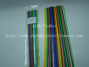 China 250mm 3D Pen Filament Customized 3d Printer Filament 3mm / 1.75mm supplier