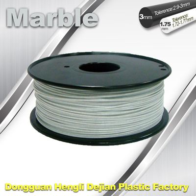 China Good Simple Sense Flexible 3d Printing Filament Marble Filament White Color supplier