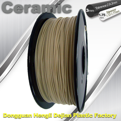 China Surface Light / Ceramic Texture  3d Printing Filament Materials Plastic Strips supplier