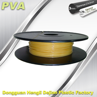 China Water Soluble PVA 3D Pinter Filament 1.75mm / 3.0mm Filament supplier