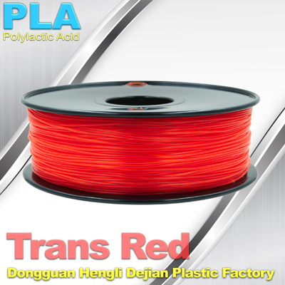 China Non-toxic Colorful  1.75mm PLA Filament For 3D Printer Material Small Shrinkage supplier