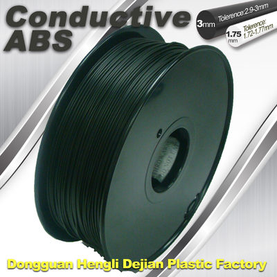 China Markerbot ,  ABS Conductive 3D Printer Filament 1.75mm / 3.0 mm supplier