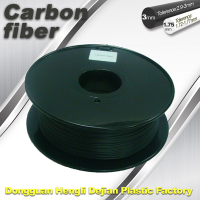 China Carbon Fiber 3D Printing Filament  .Black Color,0.8kg / Roll ,1.75mm 3.0mm supplier
