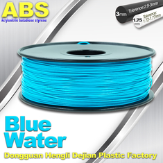China High strength Colorful ABS  Filament 3D Plastic Filament 1kg Reel supplier