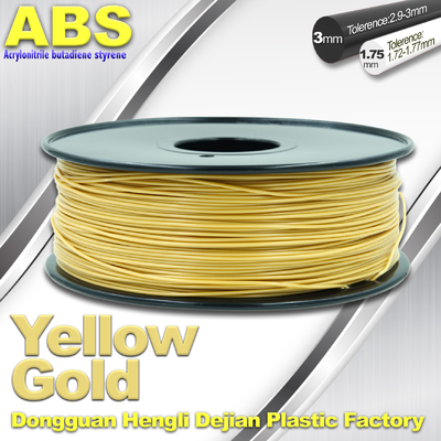 China Soft Colorful 1.75mm /  3.0mm 3D Printing ABS Filament  Material For 3D Printers supplier