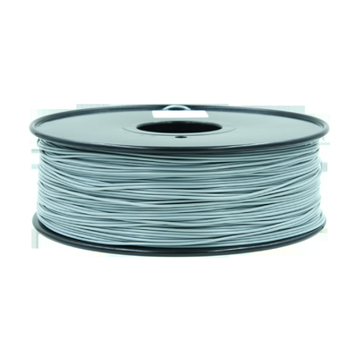 China Grey High Strength 3d Printer filament 1.75mm / ABS Plastic Filament supplier