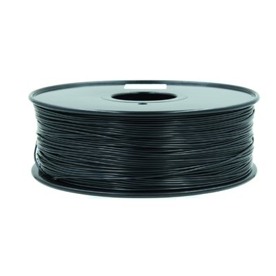 China Good Toughness PLA 3D Printer Filament  1.75mm / 3.0mm Black supplier