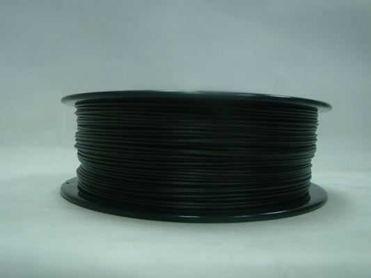 China 3D Printer PETG-Carbon Fiber 1.75MM / 3.0MM Filament Black Hight Thoughness supplier