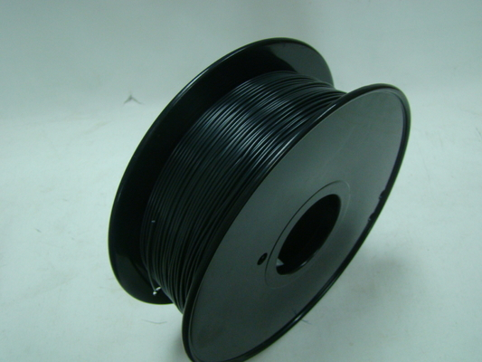 China Black 1.75mm 3D Printer ABS Flame Retardant Filament Plastic Strip For Makerbot supplier