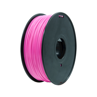 China Custom Solid  Red PLA Filamente 1.75mm / 3mm 3D Extruding Material supplier