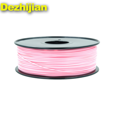 China Pink 3D Printer Filament PLA Dimensional Accuracy +/- 0.05 Mm 2.2LBS supplier