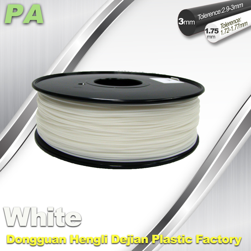 High Strength 3D Printing Nylon Filament 1.75 / 3.0mm