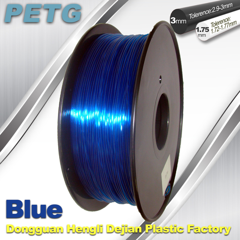 PETG Material Transparent filament 1kg good quality 3d printing filament