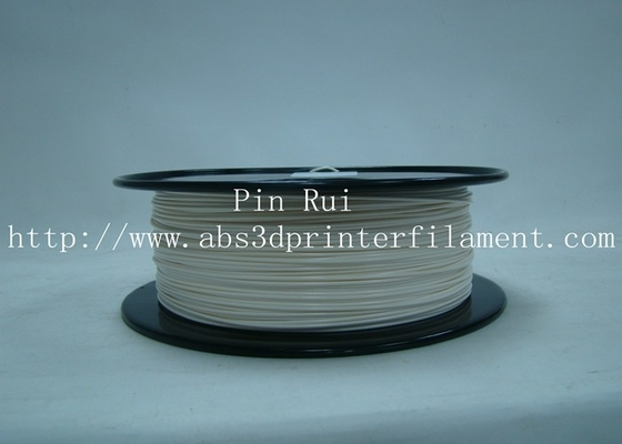 Roll Fluorescent Special Filament , Lightweight Flexible 3D Printer Filament