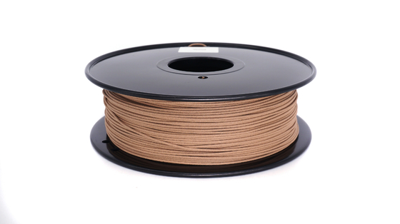 Soild 3d Printer Wood Filament Anti - Corrosion 310m Length 0.8KG / Roll