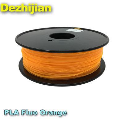 Neat Winding Spool PLA 3d Printer Filament , Free Sample Pla Plastic Filament