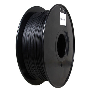Flame Retardant Carbon Fiber 3d Printer Filament 1.75 / 3.0 Mm Black Color